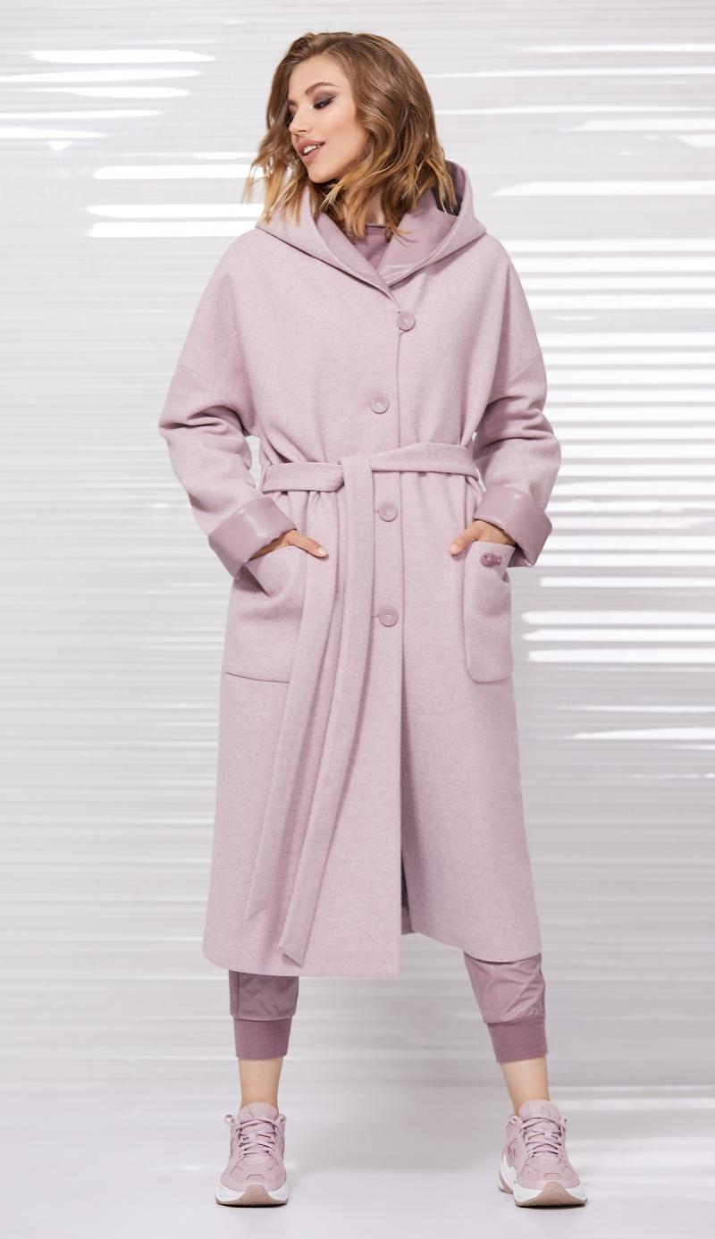 пальто 1024 / джоггеры 4035