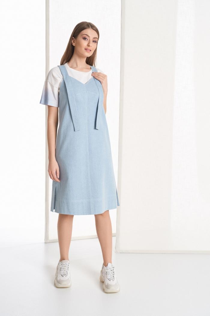 блузка 2103 / платье 5043