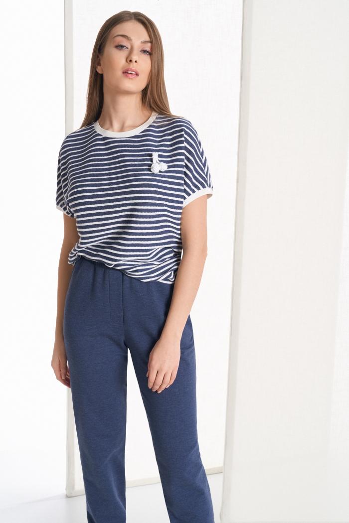 блузка 2101 / джоггеры 4043