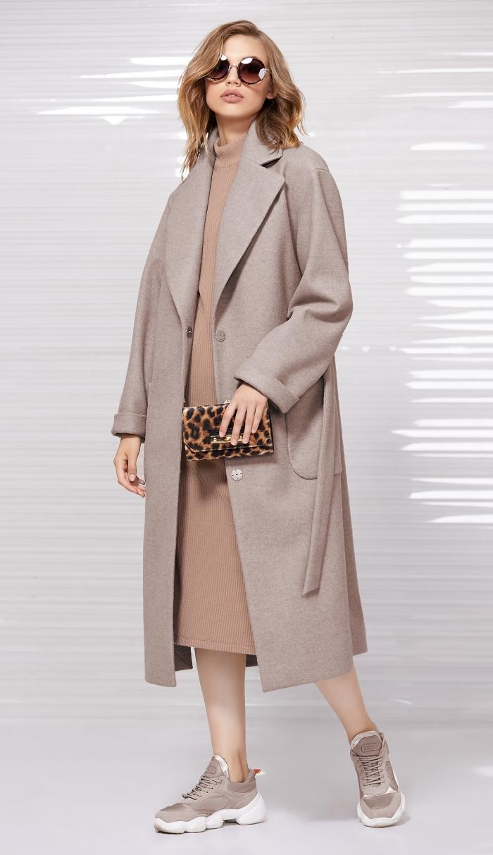 пальто 1027 / платье 5033