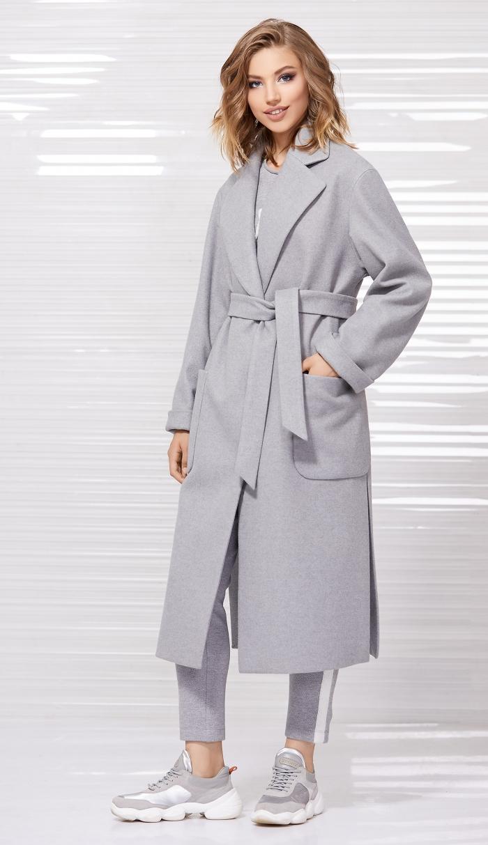 пальто 1027 / свитшот 2056 / джоггеры 4030
