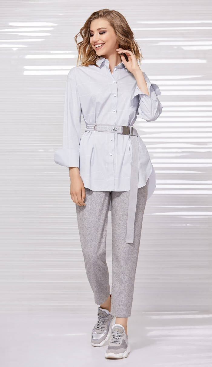 блузка 2058 / брюки 4031 / ремень 8013