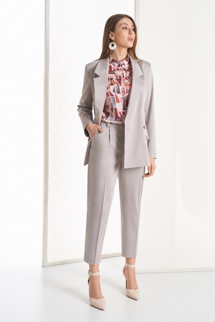 жакет 1039 / блузка 2093 / брюки 4047