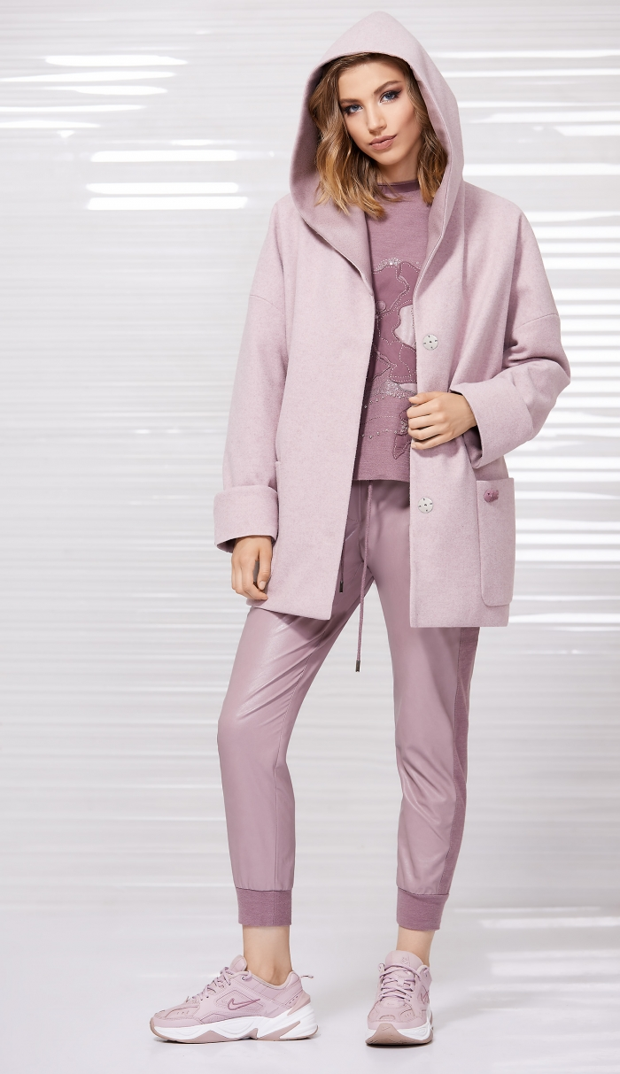 пальто 1031 / свитшот 2067 /  джоггеры 4035