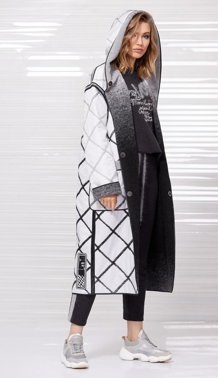 пальто 1023 / свитшот 2056 / джоггеры 4030