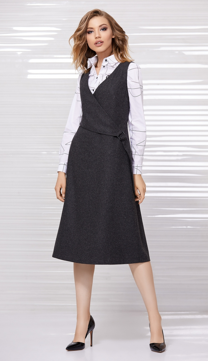 платье 5032 / блузка 2057