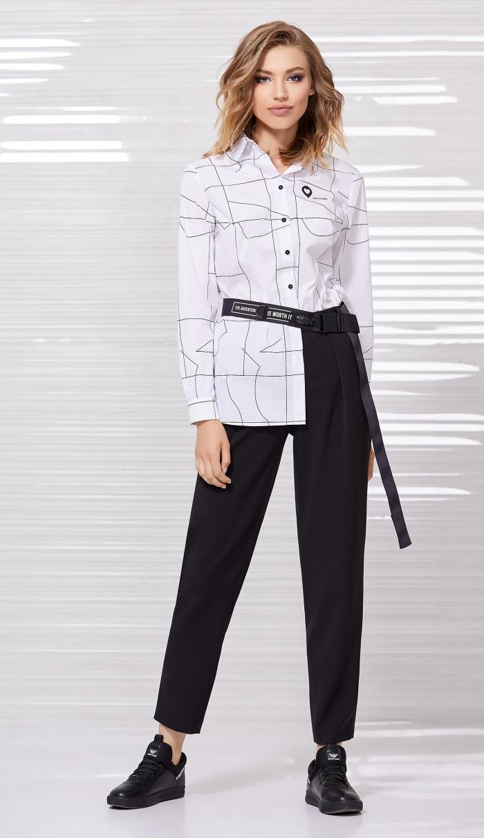 блузка 2057 / брюки 4033 / ремень 8008