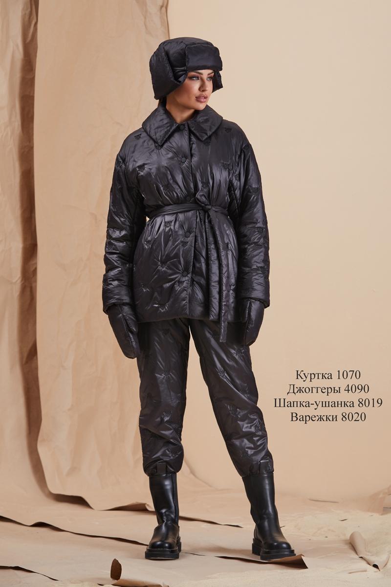 куртка 1070 / джоггеры 4090 / шапка-ушанка 8019  / варежки 8020