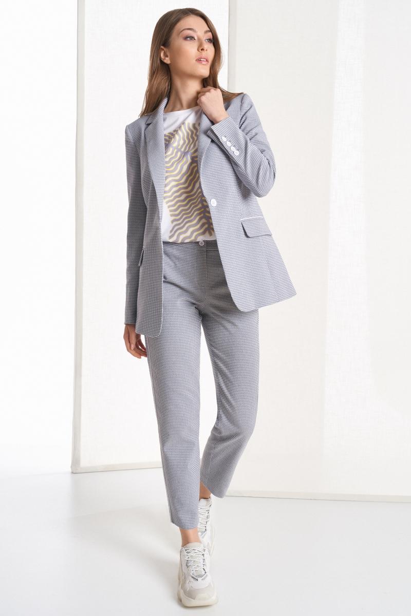 жакет 1041 / блузка 2114 / брюки 4048