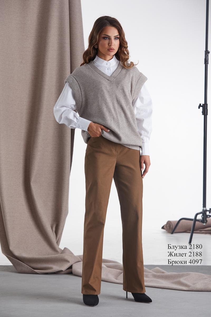блузка 2180 / жилет 2188 / брюки 4097