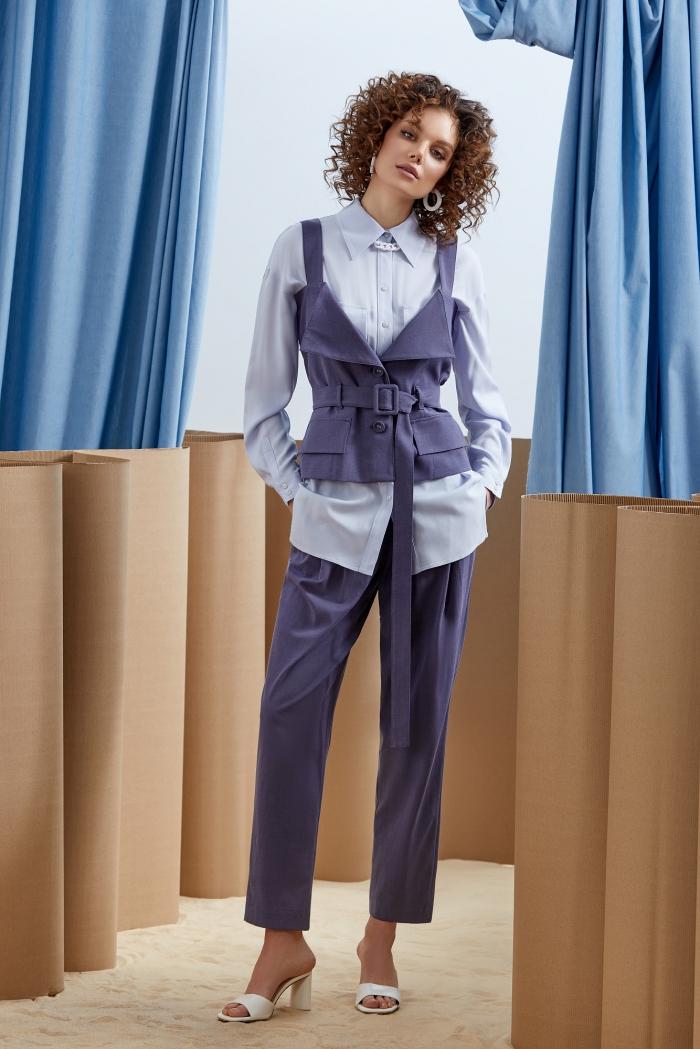 жилет 1066 / блузка 2156 / брюки 4073
